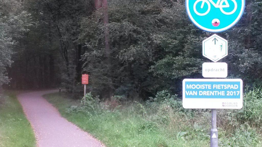 Het mooiste fietspad van Drenthe