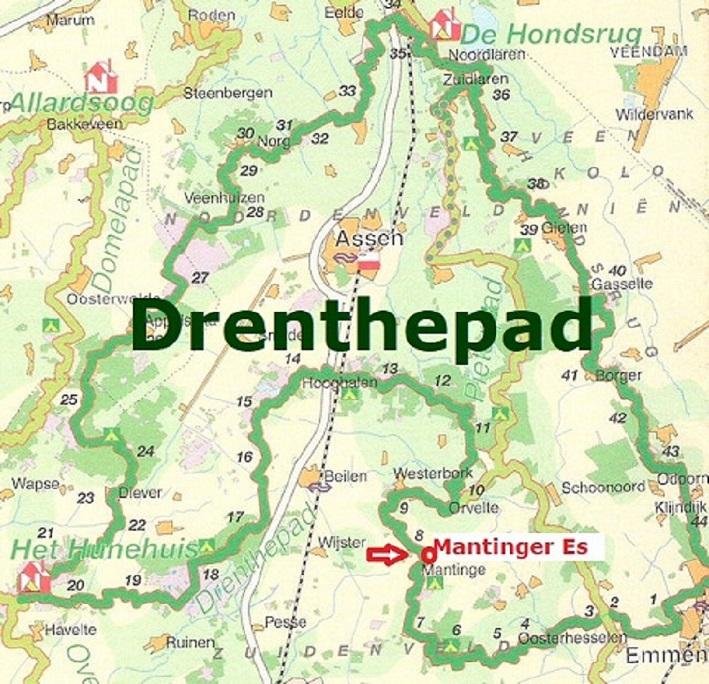 Drenthepad