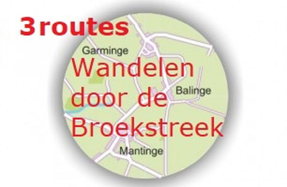 Wandelen door de Broekstreek