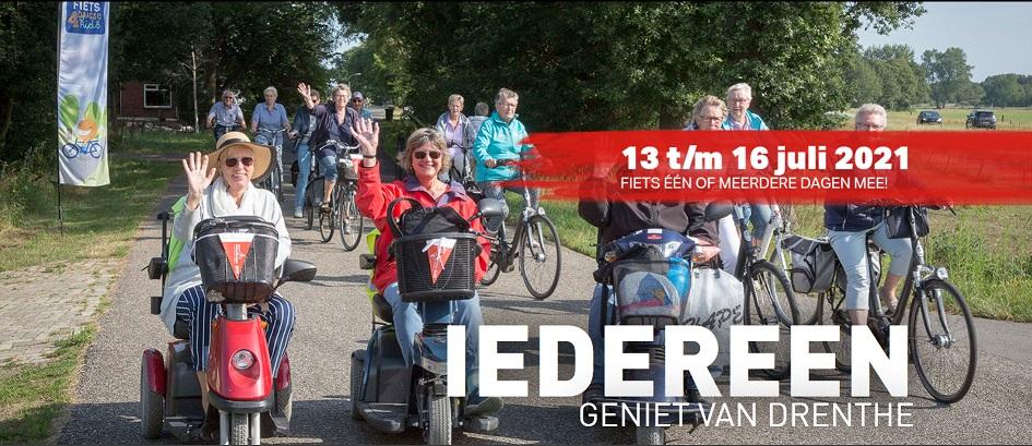 Drentse fietsvierdaagse 2021
