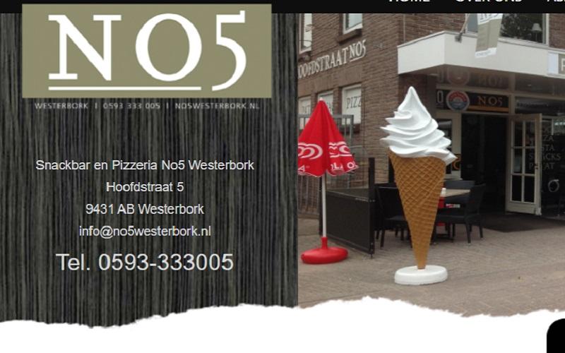 Snackbar en Pizzeria N05